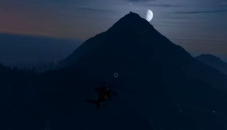 горы Чилиад в GTA V
