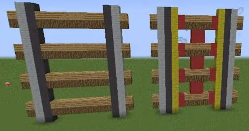 Как сделать рельсы в Minecraft