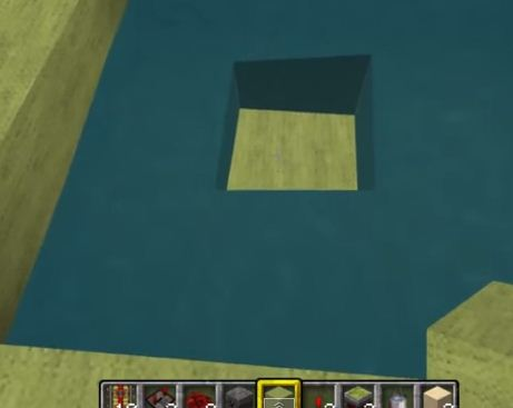 смастерить невидимый блок для Майнкрафт