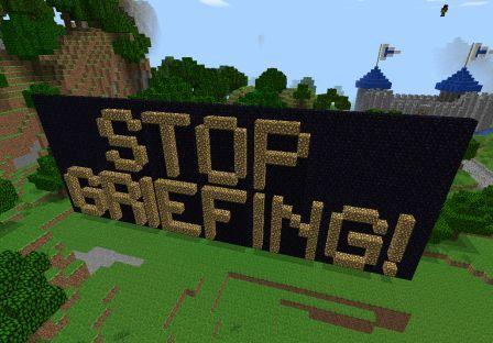 грифер Minecraft