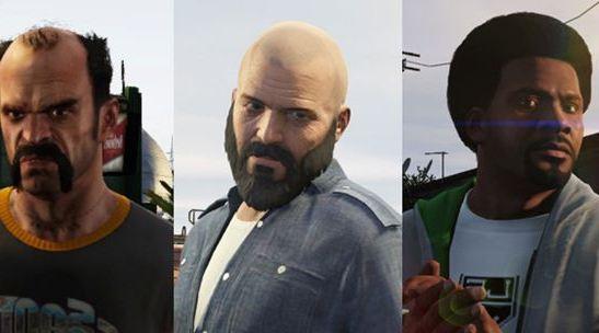 gta 5 новые прически и бороды