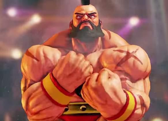 Street Fighter 5 Зангиев
