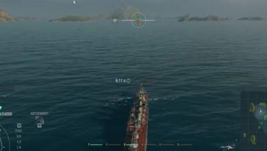 крейсер Kuma World of Warships