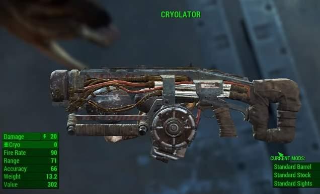 Cryolator Fallout 4