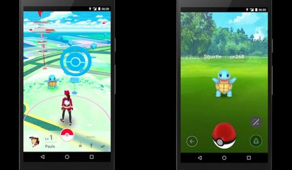 Pokemon GO скриншот